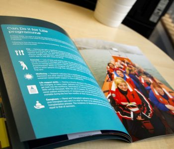 Saddle Stitch Brochures